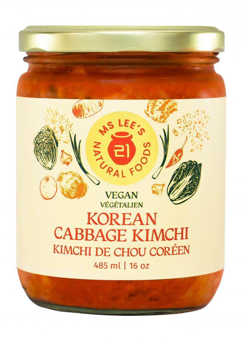 Korean Cabbage Kimchi Vegan