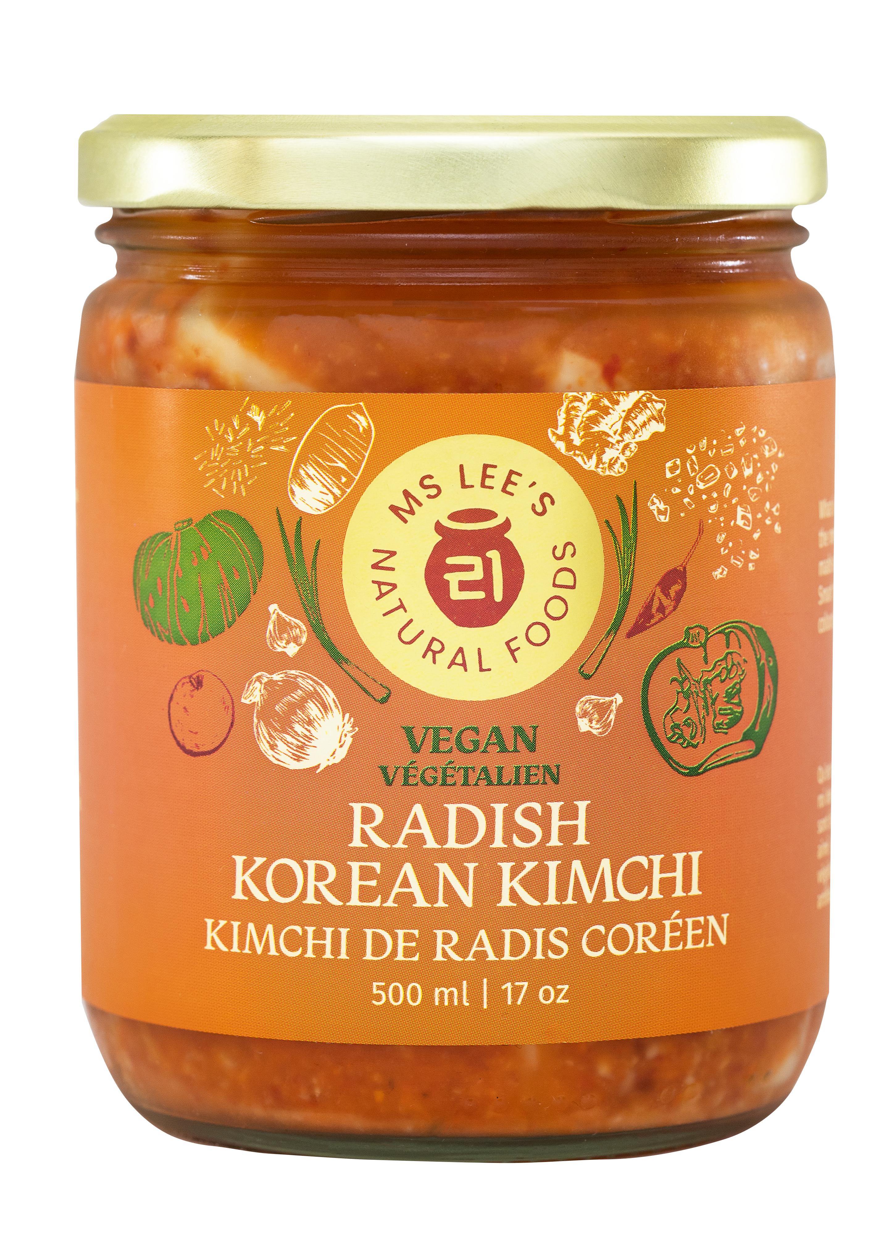 Radish Korean Kimchi Vegan